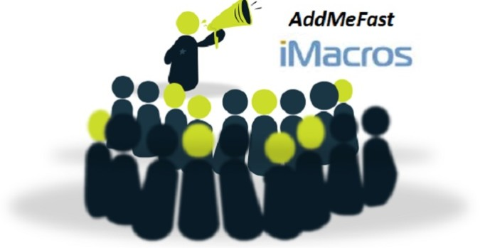 I will give you AddMeFast iMacro scripts bots to gather points on Autopilot