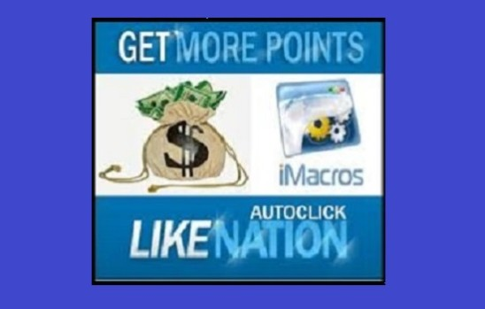 I will give you LikeNation Macro Scripts for Free Points on Autopilot