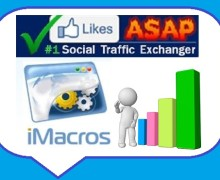 I will give you LikesASAP iMacro Scripts to gather points on Autopilot