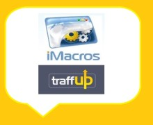 I will give you Traffup iMacro scripts to gather points on Autopilot