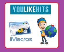 I will give you YouLikeHits iMacro Scripts to gather Free Points on Autopilot
