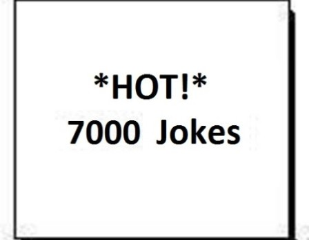 Get 7000 Super Funny Humor Short Jokes with Resale Rights