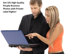 Get 101 High Quality People Business Photos with Private Label Rights
