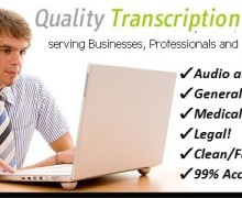 I will Accurately Transcribe 7 minutes of Audio or Video in English