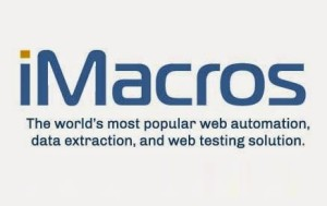 iMacros - Web Automation, Data Extraction and Web Testing Solution!