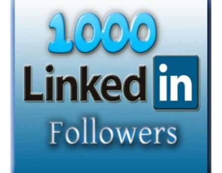 I will add over 1000 LinkedIn Followers to your Company Page