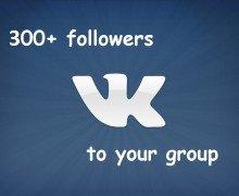 I will provide over 300 VKontakte Group Member Joins