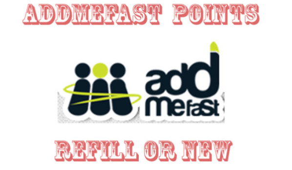 Give you new or refill AddMeFast account with over 10.000 Points