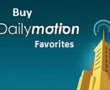 I will send 100 Favorites to your Dailymotion Video to increase ranking