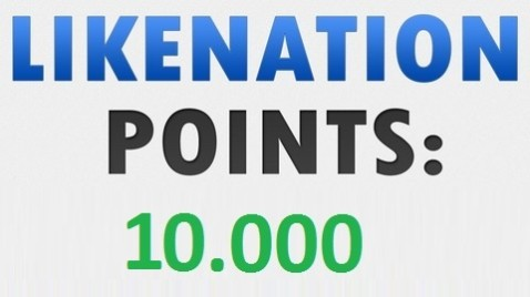 I will give you new or refill a Likenation account with over 10.000 Points