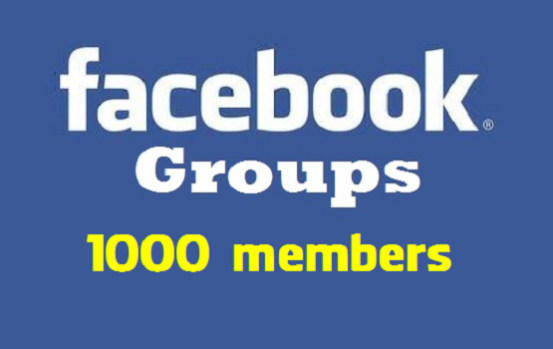Get 1000 Facebook Group Joins-Members permanent and safe