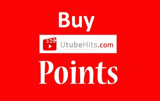 Buy 10000 Utubehits Points added in your account