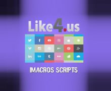 I will give you Like4.us iMacro Automation Scripts to gather free points