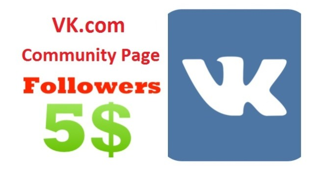 I will send over 100 VKontakte Community Page Followers