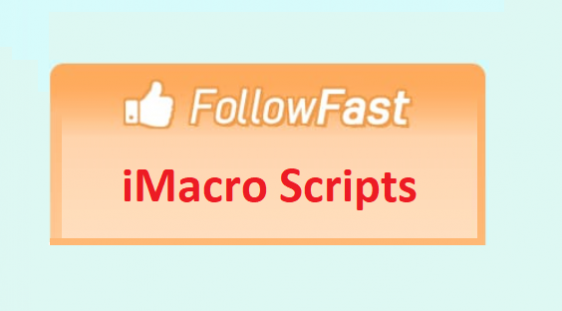 I will give you Followfast iMacro scripts to collect points